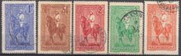 Du N° 183 Au N° 187 - O - ( C 1934 ) - Gebraucht