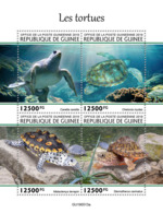 Guinee 2019 Turtles Fauna Turtle S/S GU190513 - Timbres
