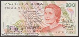 Brazil P 220 a UNC 100 Cruzados Novos 1989