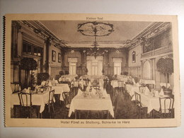 Schierke.-Hotel Fürst Zu Stolberg X2. (Kleiner + Grosser Saal) - Schierke