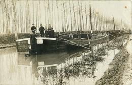BELLE CARTE PHOTO PENICHE - Hausboote