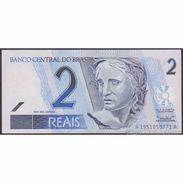 TWN - BRAZIL 249a - 2 Reais 2001 Various Series - Signatures: Malan & Neto UNC - Brésil