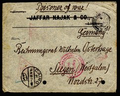 A6548) DR POW Kriegsgefangenenbrief V. Alexandria / Ägypten 1918 N. Siegen - Lettres & Documents