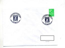 Lettre Cachet Paris Armees Halte Aux Mines - Storia Postale