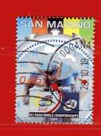 S.Marino ° 2008 -  CICLISMO Su STRADA. Unif. 2195.  Usato - Oblitérés