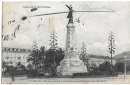 ! - France - Nice - Monument Du Centenaire Et Nouveaux Jardins - 2 Scans - Monuments, édifices