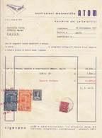 """9609-COSTRUZIONI MECCANICHE-""""ATOM""""-MACCHINE PER CALZATURIFICI-VIGEVANO(PV)-1951 - Italie"""