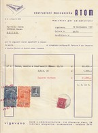 "9609-COSTRUZIONI MECCANICHE-""ATOM""-MACCHINE PER CALZATURIFICI-VIGEVANO(PV)-1951 - Italia"