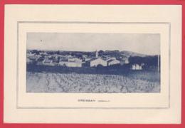 CPA-34- CREISSAN-vu Du Chemin De La Croix De Saint-Michel -Inédit *2 SCANS - Autres Communes