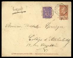 1894, Belgien, U 3, 63, Brief - Belgien
