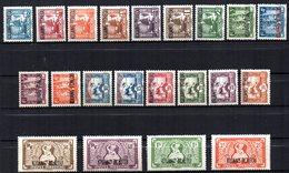 Col17  Colonie Kouang Tchéou N° 97 à 117 Neuf X MH Cote 23,00€ - Kouang-Tcheou (1906-1945)