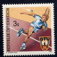 AUTRICHE - 1536**  - TENNIS - 1981-90 Unused Stamps