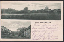 Zwenzow Ortsteil Von Userin Wesenburg Dorfstr. Total Ansichtskarte - Deutschland