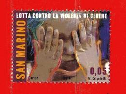 S.Marino ° 2014 -  LOTTA CONTRO La VIOLENZA. Unif. 2429.  Usato - Saint-Marin