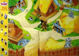 Plateau + Figurines Astérix Obélix ........ Plastoy Bridel De 1999 - Asterix & Obelix