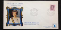 "Netherlands, Uncirculated FDC, ""Dutch Monarchy"", ""Queen Beatrix"", Groningen, 1982 - Period 1980-... (Beatrix)"
