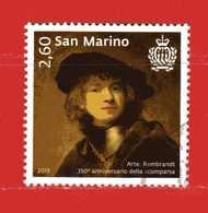 S.Marino ° 2019 -  ARTE - REMBRANDT.   Usato - Saint-Marin