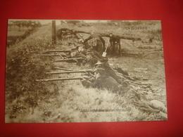 N°0991. WWI. LA GUERRE. SOLDATS BELGES DANS LES TRANCHEES DE DIEST. - Guerre 1914-18