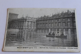 Paris Inondé - Arrivée Des Députés à La Chambre - Otros