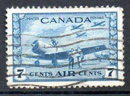 CANADA. PA 8 Oblitéré De 1942-3. Avion. - Avions