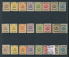 LITHUANIA MEMEL YVERT  185/208 LH OR MNH - Litauen