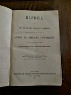 Oude  BIJBEL OUDEN  EN NIEUWE  TESTAMENTS   Gedr. 1923  Te LONDEN - Livres, BD, Revues