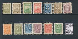 LITHUANIA MEMEL YVERT 126/138 LH - Lituanie