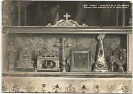 V3992 Roma - Basilica Di Santa Prassede - Reliquie Della Passione Di Nostro Signore Gesù Cristo / Viaggiata 1959 - Kerken