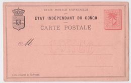 Etat Indépendant Du Congo Entier Postal - Lot De 6 Entiers Postaux Vierges Différents Congo Belge - Entiers Postaux