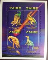 Zaire 1996 Prehistoric Animals Dinosaurs Sheetlet MNH - Préhistoriques