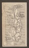 CARTE PLAN 1931 AURÉGNY - FORT CLANQUÉ FORT ALBERT GIFFOINE RÉCIFS - Topographische Kaarten