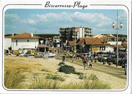 BISCARROSSE PLAGE - L'avenue De La Plage - Voiture - Biscarrosse