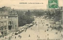 34* MONTPELLIER Place De La Comedie En 1892    MA101,0158 - Montpellier