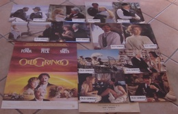 AFFICHE CINEMA ORIGINALE FILM OLD GRINGO + 12 PHOTOS EXPLOITATION FONDA PECK SMITS MASCII TBE MASCII - Affiches & Posters