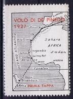 Italy  VOLO DI DE PINEDO 1927 - 1900-44 Vittorio Emanuele III