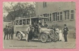68 - Auto - Autobus - RUFACH - WESTHALTEN - SULZMATT - OSENBACH - Voir état - Frankrijk