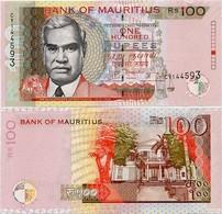 MAURITIUS       100 Rupees       P-56e       2013       UNC - Mauritius