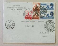 "Busta Di Lettera ""Comptoir D'Agences Commerciales"" Il Cairo-Como (Ita) - 01/09/1955 - Posta Aerea"