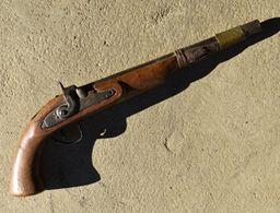 Reproduction De Pistolet à Silex Style Oriental - Decorative Weapons