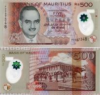 MAURITIUS       500 Rupees       P-66b       2016       UNC - Mauritius