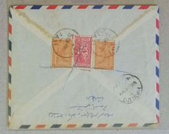 Busta Di Lettera Per Via Aerea Da Jeddah Per L'Inghilterra - 29/06/1956 - Arabia Saudita