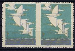 ITALY 1933  CEOCIERA AEREA TRANSATLANTIQUE ROMA CHICAGO  NEW YORK ROMA - 1900-44 Victor Emmanuel III.