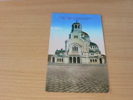 CARTE POSTALE/BULGARIE/ / L EGLISE ST ALEXANDRE NEVSKY  NON VOYAGEE - Bulgarie