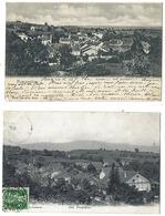 SUISSE - POMPAPLES - Lot De 2 CPA - 1901 Et 1909 - VD Vaud