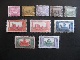 TUNISIE: TB Série  N° 100 Au N° 109, Neufs X. - Tunisia (1888-1955)