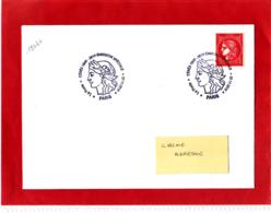1.00 € Rouge, Cérès Non Dentelé, Sur Lettre, Obl 1er Jour 07/11/19, Provenant Du Bloc De 25 T Du Livret Prestige - 2010-....