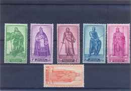 Nrs. 737/742 Postgaaf ** Zeer Mooi MNH - Belgien