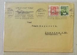 Busta Di Lettera Praga-Dresda - 27/11/1946 - Cecoslovacchia