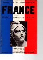 FRANCE CATALOGUE STORCH FRANCON BRUN 1982/83  890 GRAMMES - France