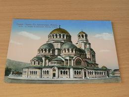 CARTE POSTALE/BULGARIE/ LE TEMPLE ST ALEXANDRE NEVSKY A SOFIA  NON  VOYAGEE - Bulgarie